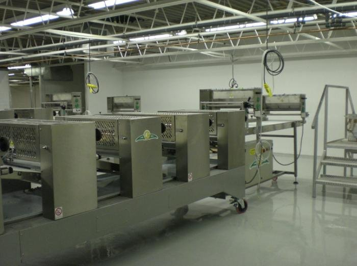 Dough Laminating Line Five Alba Equipment Italy